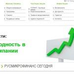 Микрозаймы РУСМИКРОФИНАНС Павловский Посад